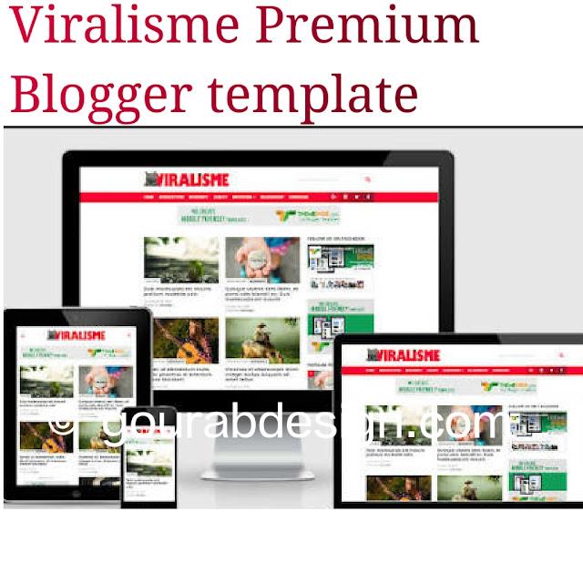 Viralisme seo friendly magazine blogger template