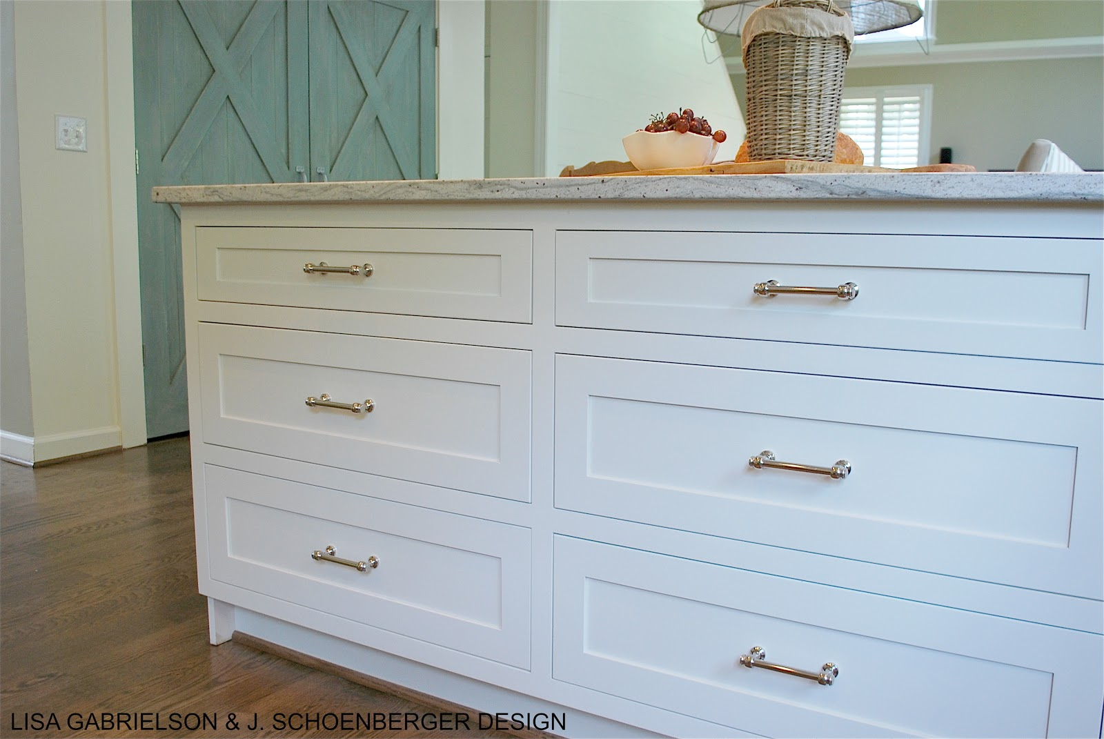 Long Cabinet Pulls Before And After: Client Kitchen Reveal