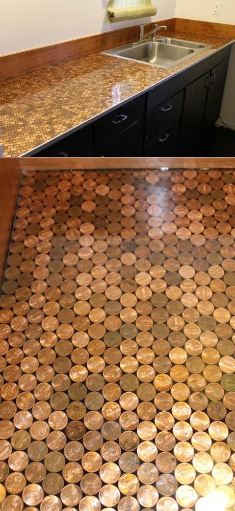 Penny-countertop
