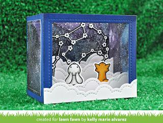 Bildergebnis für lawn fawn shadow box card