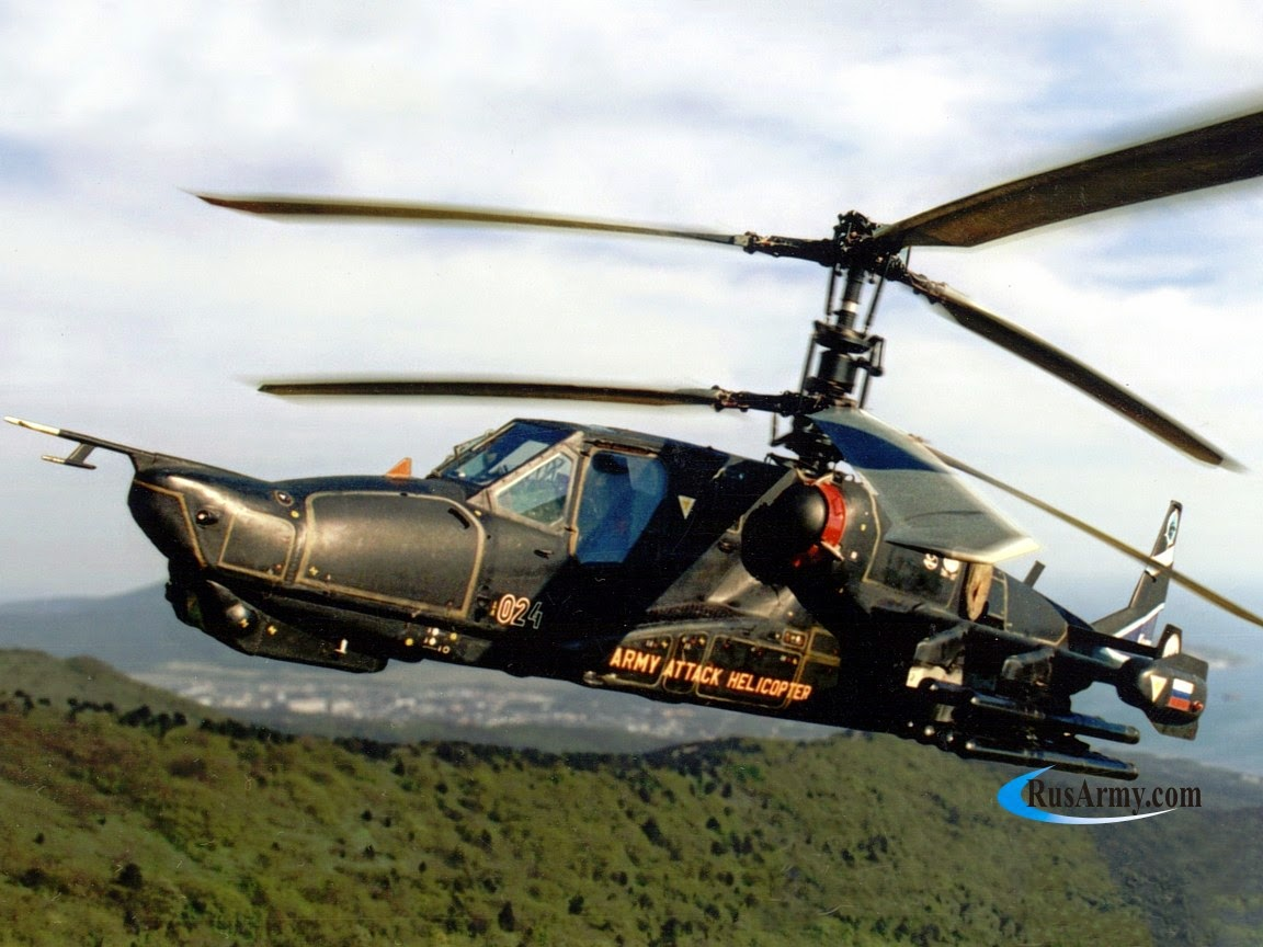 Defence Horizon Kamov Ka 50 The Helicopter With Ejection Seats