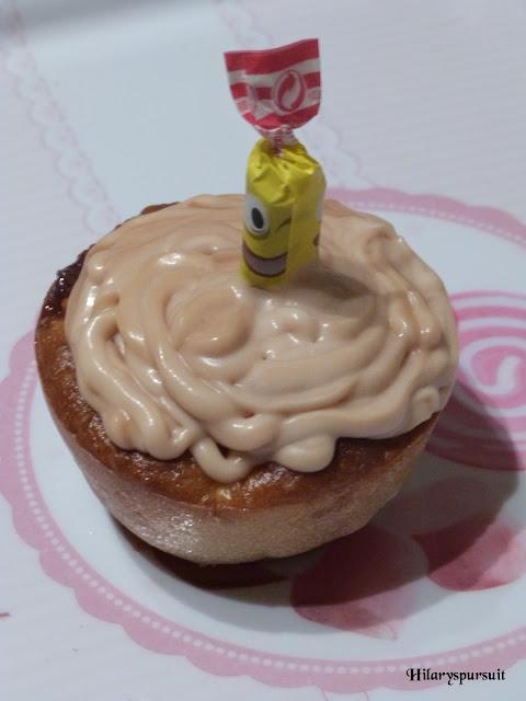 Cupcake pomme carambar