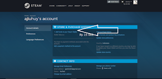 Tutorial memasukan kode steam wallet