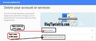 Panduan lengkap Cara Menghapus Akun Google