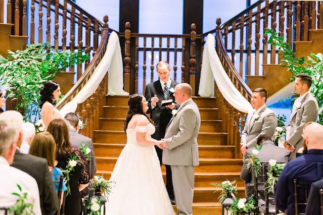 At the alter; Atlast weddings; Tavares Pavilion on the Lake