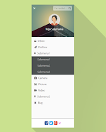Membuat Sidebar Navigation Menu Dropdown Responsive