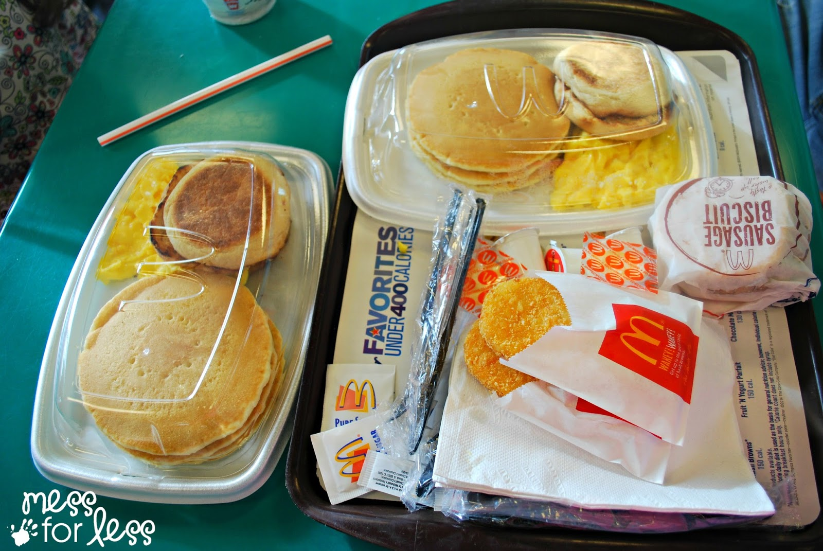 Family Enjoyment at McDonald's | Mess For Less