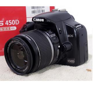 Jual Kamera Bekas - Canon EOS 450D