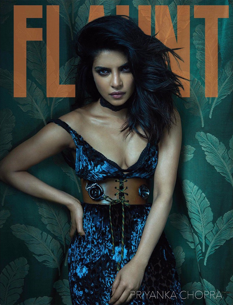 Priyanka Chopra turns up the heat for Flaunt Magazine