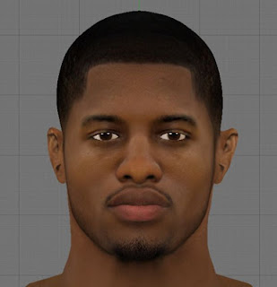 NBA 2K13 Paul George HD Cyber Face Patch