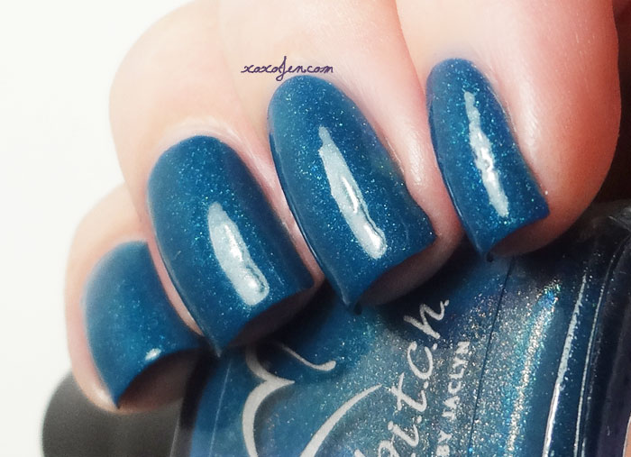 xoxoJen's swatch of B.i.t.c.h. Make It Rain