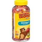 Kẹo bổ hình gấu sung Omega 3 DHA L'il Critters Gummy Fish 180 Viên Của Mỹ