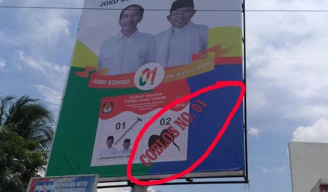 Baliho 01 Bikin Gambar Prabowo-Sandi Mirip Tikus, Bawaslu Diminta Bersikap Tegas