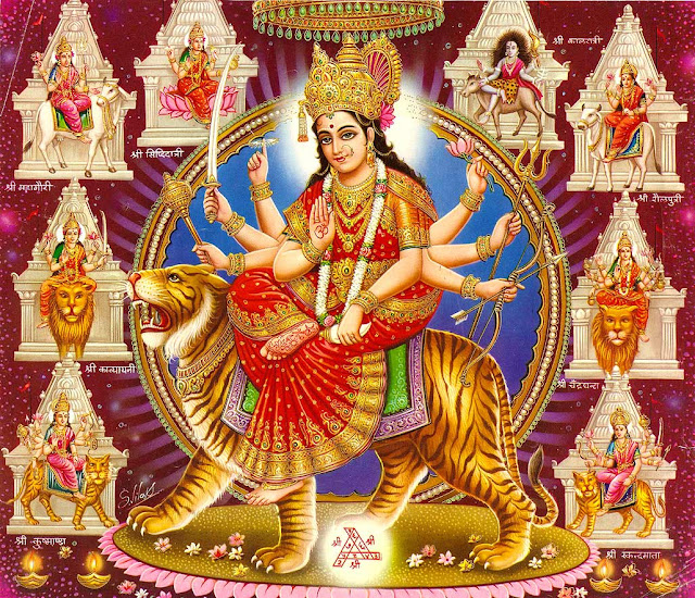 Maa Durga Wallpaper Collection