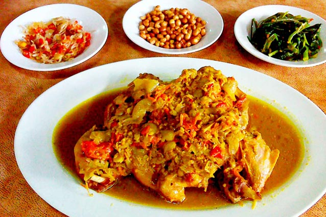 Betutu duck Gilimanuk signature dish