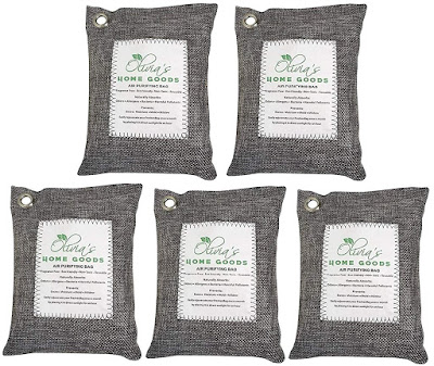 Activated Bamboo Charcoal - Natural Air Freshener For Odors