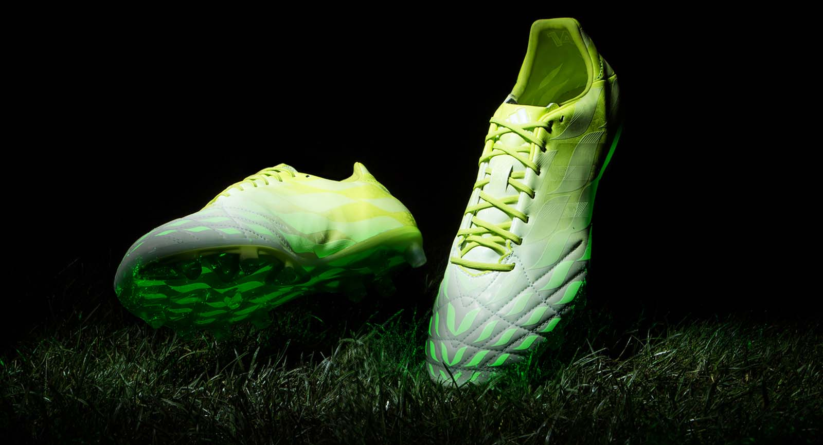 official photos 717a5 f9a14 ADIDAS ADIPURE 11PRO HUNT BOOT REVEALED - GLOW IN THE DARK