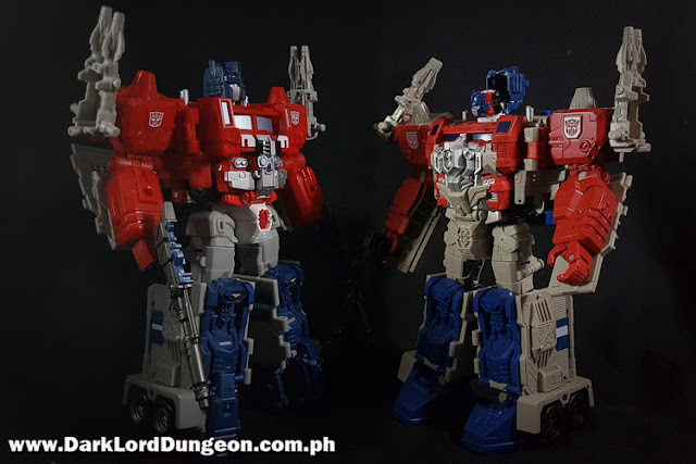 Takara LG-35 and Hasbro's Powermaster Optimus Prime