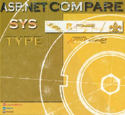 ASP.NET Compare Type.aspx Open Source