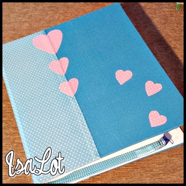 Isalot scrapbooking tutorial diy c mo hacer una agenda - Decoracion facil y barata ...