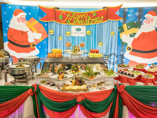 20% off for Maybank Card Holders for Christmas Eve & New Year's Eve Buffet Dinner @ Sunway Hotel Seberang Jaya & Sunway Hotel Georgetown