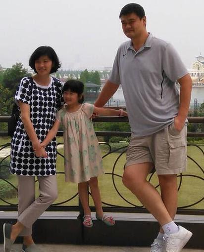 姚明女兒 遺傳爸媽神基因6歲150公分