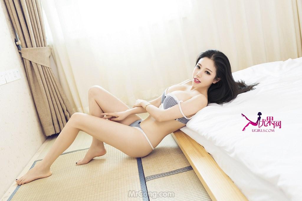 Image MrCong.com-UGIRLS-054-Ni-Xiao-Yao-004 in post Người đẹp Ni Xiao Yao (妮小妖) khỏa thân táo bạo trong bộ ảnh UGIRLS 054