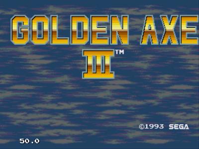 【MD】戰斧1、2、3系列合集(Golden Axe),Sega經典動作、魔法過關遊戲!