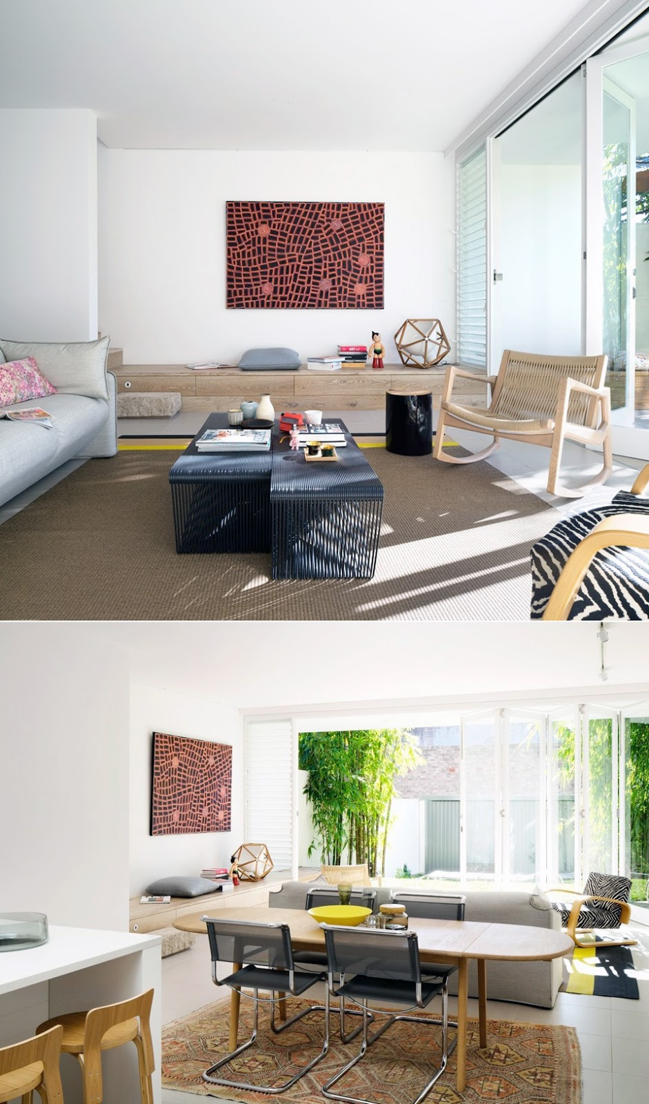 Awesomely stilige urbane stuer   interiør inspirasjon