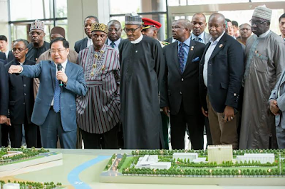 President Buhari visits Shanghai Free Trade Zone and Commercial Aircraft Cooperation of China