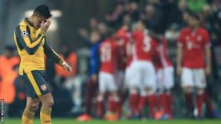 Celebrity Arsenal Fan Reacts To 5-1 Loss To Bayern Munich