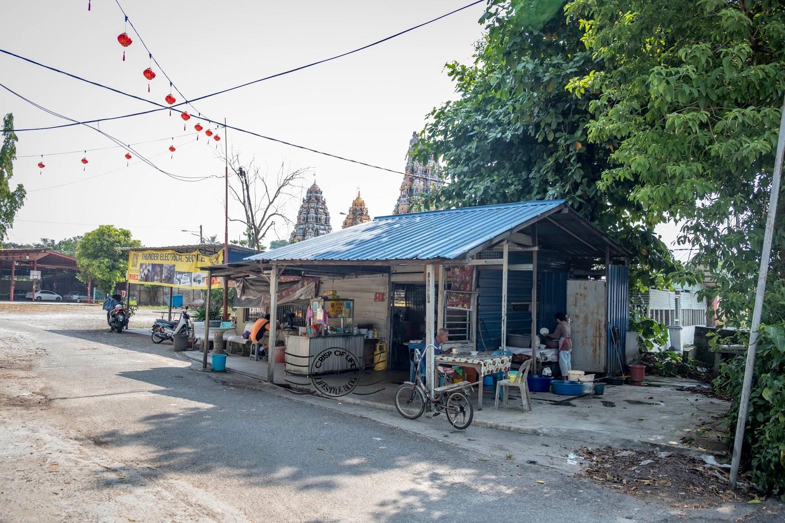 Hock Leng Keong Temple Hokkien Mee @ Simpang Ampat, Penang