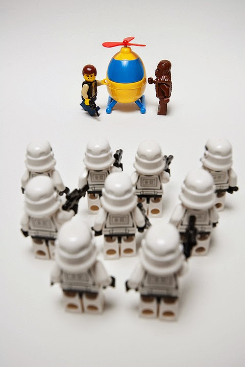 Great Star Wars Lego scenes