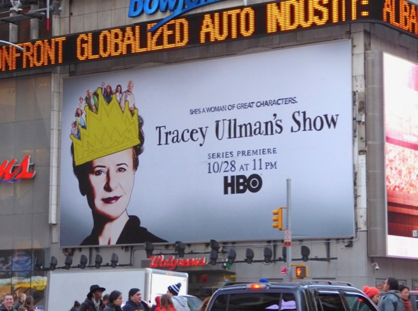 Tracey Ullmans Show season 1 billboard NYC