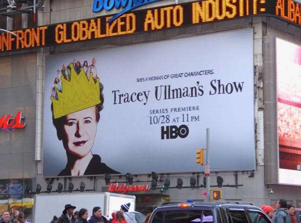 Tracey Ullmans Show season 1 billboard NYC