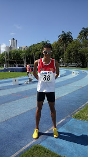 Baraunense fica em 4° Lugar nos 1500 metros no Norte/Nordeste de atletismo