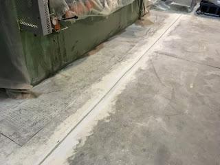 Hormigón reparado y sellado productos Comace