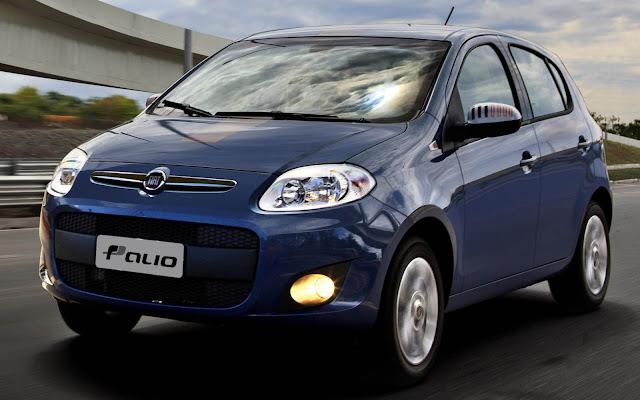 Fiat retira Palio e Punto de configuração no site