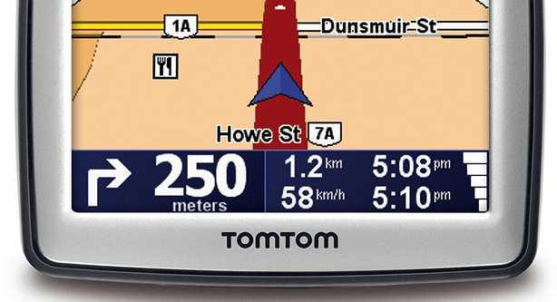 TomTom navigatore