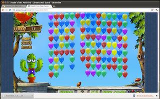 Google chrome games poppit
