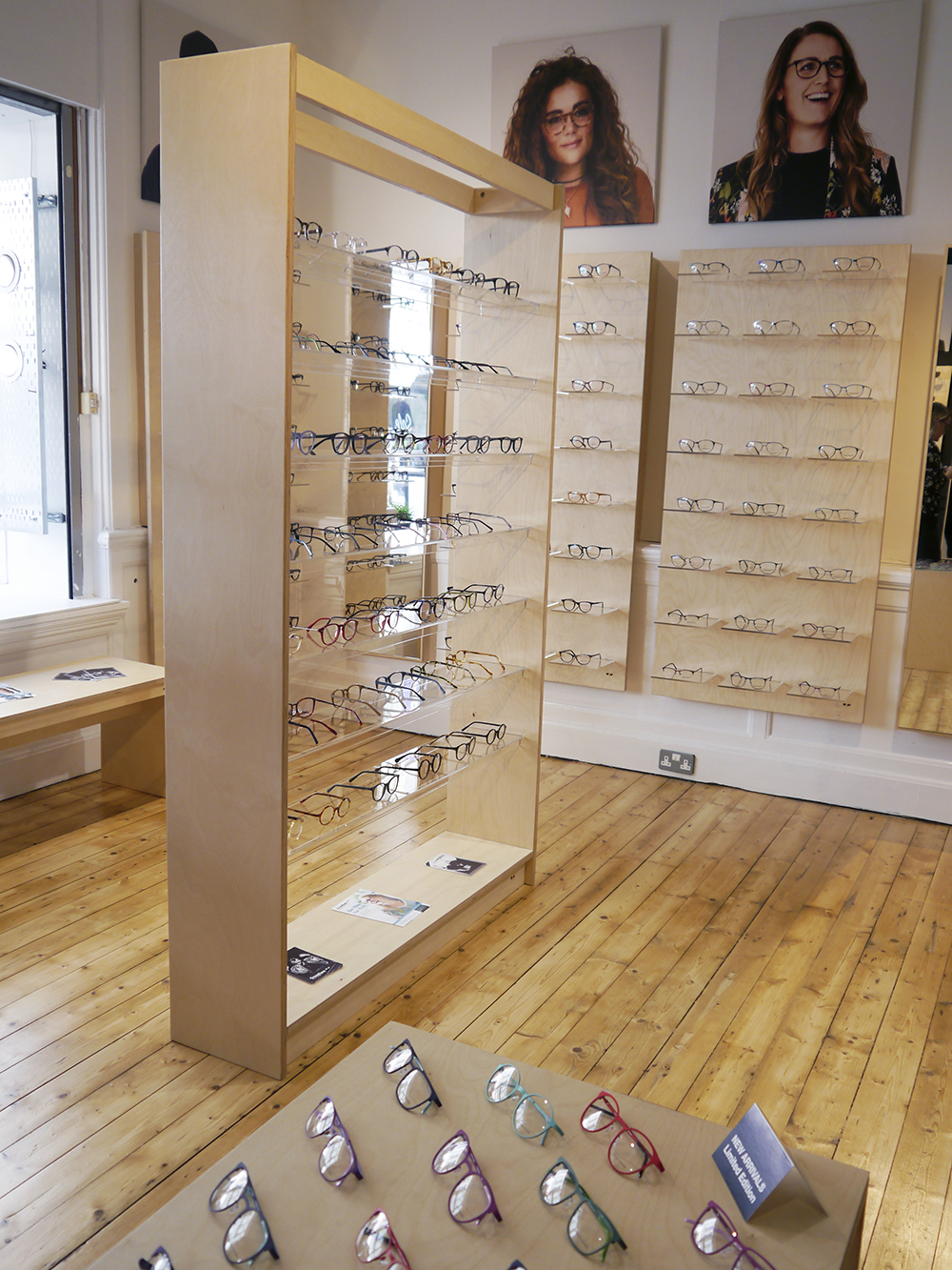 CrossEyes Edinburgh store filled with over 400 stylish frames and spectacles