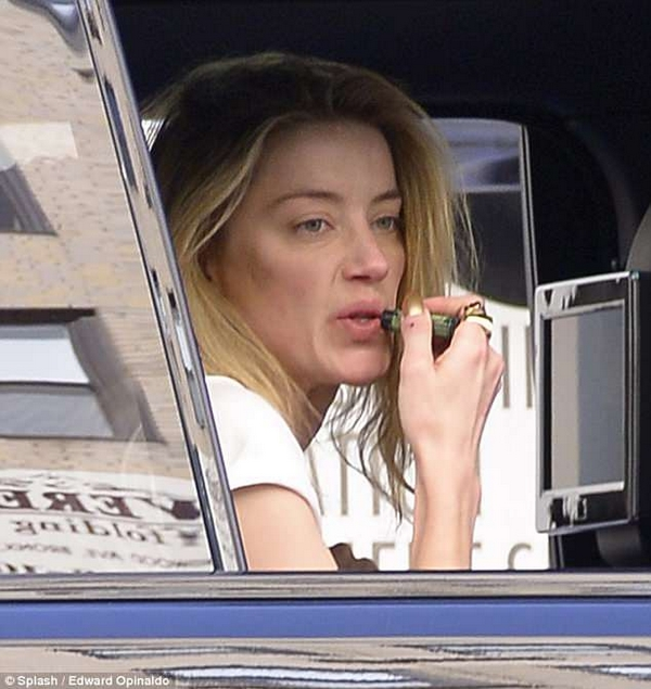 Amber Heard no make up without makeup
