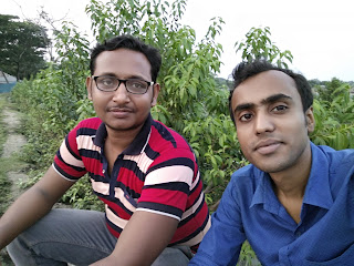 Sajal Mondal with Shimul Das