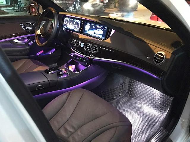 Thảm lót sàn Mercedes S Class
