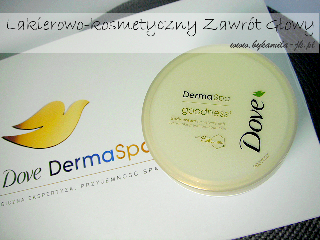 Dove DermaSpa Goodness krem do ciała kosmetyki rozświetlające