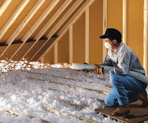 Blow-in Fiberglass Insulation
