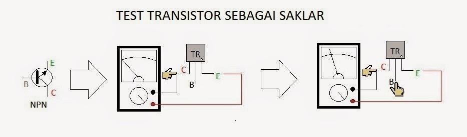 transistor sebagai saklar NPN