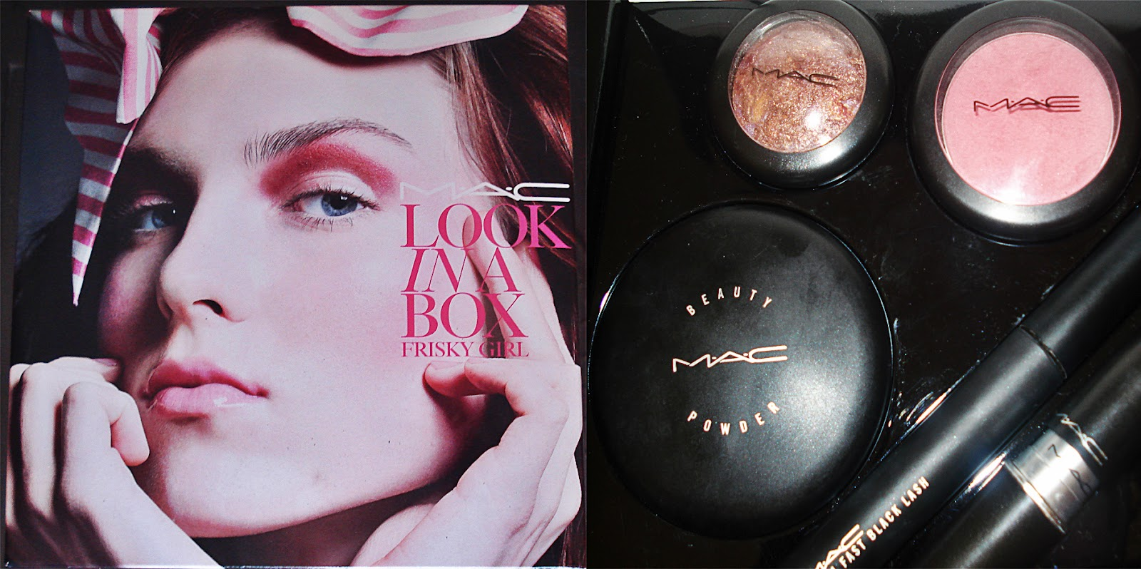 You can also find some great perfumes and creams there. I bought this pretty MAC Look In A Box set for just R420!