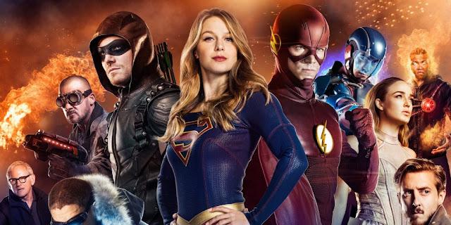 CW séries DC Comics