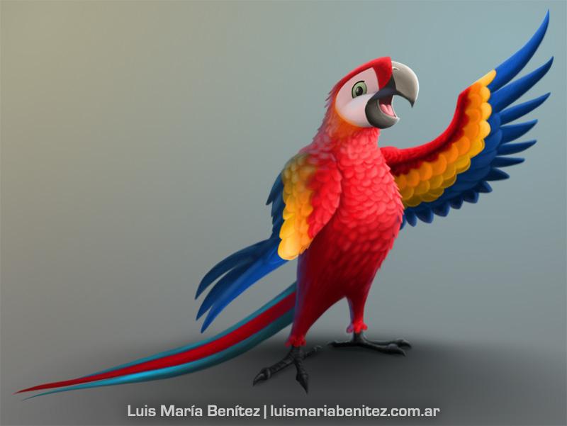 realistic character design / diseño de personaje realista © Luis María Benítez